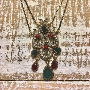 Jewelry - Vintage Victorian Style Necklace & Earring Set